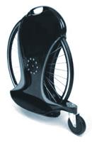 чё-то непонятное - то ли велосипед, то ли скутер... но факт, что с колесом