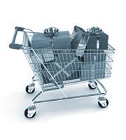 Корзинка из супермаркета