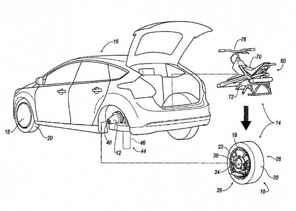 колесо-трансформер Ford