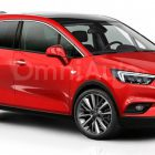 Художники показали новый Opel Meriva