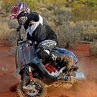 Vespa Sprint Desert Racer
