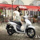 Дамский скутер Yamaha Janus